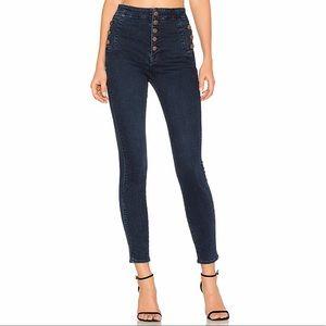 J Brand Jeans Natasha Sky High Waisted Skinny